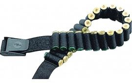 """Uncle Mikes 88051 Cartridge Belt 2"""" Nylon Web w/Flip Open Buckle Black"""