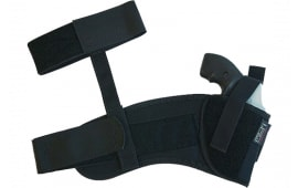 Uncle Mikes 8810 Ankle Holster Small Autos .22-.25 Cal Cordura Nylon Black