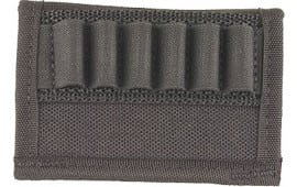 Uncle Mikes 8840 Handgun Cartridge Holder 6 Loop Nylon Black