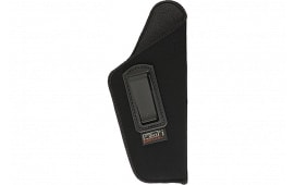 """Uncle Mikes 8905 Inside the Pants Open Style Holster Left Hand 4.5""""-5"""" Barrel Large Auto Suede Black"""