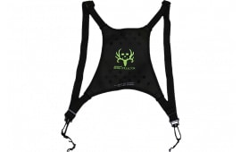 Butler Creek 16126 Deluxe Bino Caddy Harness Black w/Bone Collector Logo