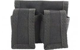 "HKS 203LBB 203LBB Speedloader Case Large Fits Belts Up to 2.75"" Black Nylon"