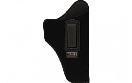 """Uncle Mikes 76162 Inside The Pants with Retention Strap 3.25-3.75"""" Barrel Medium/Large Auto Laminate Black Left Hand"""