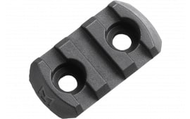"Magpul MAG589-BLK M-Lok 3 Slot Polymer 1.6"" Black M-LOK mount to Picatinny"