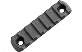 "Magpul MAG591-BLK M-Lok 7 Slot Polymer 3.3"" Black M-LOK to Picatinny"