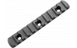 "Magpul MAG593-BLK M-Lok 11 Slot Polymer 4.9"" Black M-Lok to Picatinny"