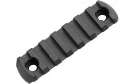 """Magpul MAG582-BLK M-Lok 7 Slot Aluminum 3.3"""" Black"""