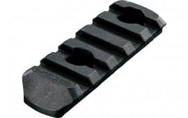 "Magpul MAG406-BLK MOE 5 Slot Black Polymer 2.5"""