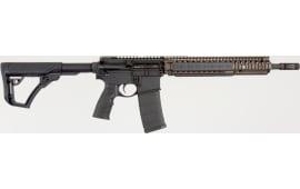 "Daniel Defense 06027055 DDM4 M4A1 *CA Compliant* Semi-Auto 14"" 10+1 6-Position Hard Coat Anodized/Black Phosphate"