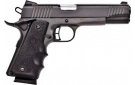 "Citadel CIT45FSPHBLK M-1911 Full Size Single 5"" 8+1 Hogue Grip Black"