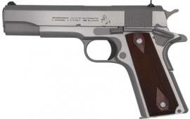 "Colt O1911C-SS38 Govrnmnt 38SUP 5"" SS"