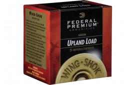 "Federal P2583 Premium Upland Wing-Shok Magnum 20GA 3"" 1 1/4oz #4 Shot - 25sh Box"