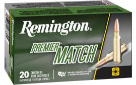 Remington 27673 RM65PRC01 Premier Match 145 OTM BT - 20rd Box
