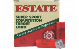 "Estate SS12H8 Super Sport 12GA 2.75"" 1 1/8oz #8 Shot - 25sh Box"
