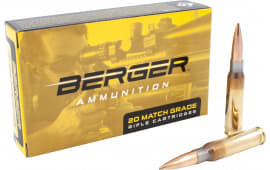 Berger Bullets 60030 .308 Winchester 155 GR Fullbore TRGT - 20rd Box