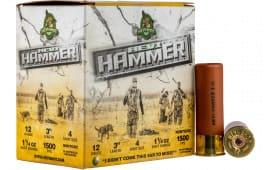 """Hevishot hot 28004 Hammer 12 3"""" 4 11/4 - 25sh Box"""