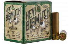 Hevishot hot 14504 Bismuth WF 12 3.5 4 11/2 - 25sh Box