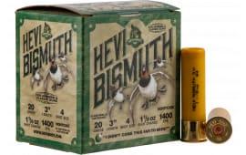 "Hevishot hot 17004 Bismuth WF 20 3"" 4 11/8 - 25sh Box"
