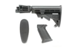 TAPCO Intrafuse Saiga T6 Six Position Stock and Pistol Grip Set - Black