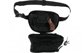 Bulldog BD860 Pistol Holster Fanny Pack Small Medium Nylon Black