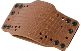 Limb 12521 Cross Tech Hlster Leather CLIPON-LT BRN