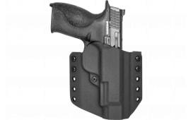 """Comptac Warrior HLSTR SW MP 9/40/45 4"""" RH Black"""