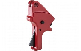 Apex Tactical Specialties 100153 Flat Faced Forward Set Sear & Trigger Kit S&W M&P 2.0 Drop-in Red