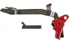 Apex Tactical Specialties 102156 Action Enhancement Kit Glock 17,19,19x,26,34,45 Gen 5 Enhancement Drop-in Red