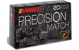 Barnes Bullets 30819 BB65PRC01 6.5PRC 145 OTM BT - 20rd Box