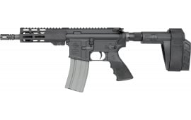 "Rock River Arms LAR-15 Semi-Automatic AR-15 Pistol 7"" Barrel .223/5.56 Nato 30rd - Includes SB Tactical SBA3 Brace - Hogue Overmold Grip - DS2132"
