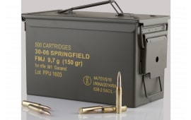 PPU PP3006GMC 3006 M1 Garand MC 500rdS - 500rd Case