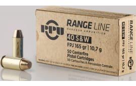 PPU PPR40 40S Range 165 FPJ - 50rd Box