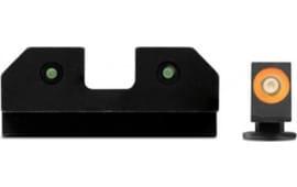 XS Sights GL-R012P-6N RAM 3 Dot Glock 17/19 ORG
