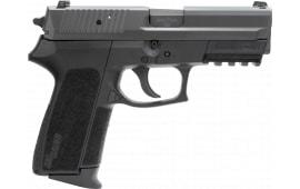 "Sig SP20229BSSCA SP2022 *CA Compliant* NS 3.9"" 10+1 Black Poly Grip Nitron"