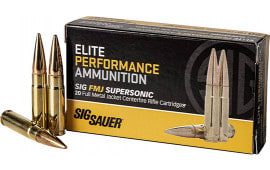 Sig Sauer E300B1-20 300 Blackout 125 FMJ Elite - 20rd Box