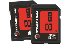 Stealth Cam STC2SD8GB SD Memory Card 8GB 2 Pack