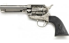 Taylors and Company OG1402 Pietta Outlaw Legacy 4.75 Nickel Revolver