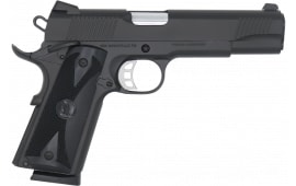 SDS 1911B-45 Duty Pistol, Full Size 1911 45ACP, Upgraded Features, Black Cerakote Finish