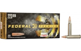 Federal P223Q Vital-Shok 223 Rem/5.56 NATO Nosler Partition 60 GR - 20rd Box