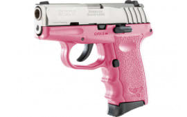 SCCY CPX3TTPK CPX3-TT Pistol DAO .380 10rd SS/PINK w/O Safety