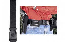 "Uncle Mikes 8800 Holster Belt Sidekick Fits up to 50"" Waist Black Nylon"