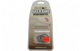 Carlsons 00066 Gas O-Ring Assortment Kit 12/20 GA Rubber/Graphite Coated Black/Silver