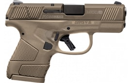 Mossberg 89010 MC-1 Striker PSTL 9 3.4 FDE Safety