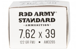 Century Arms AM3265 RA 762X39 122FMJ BJB - 20rd Box