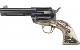 Taylors and Company OG1416 1873 CTTLMN Stag 357 4.75 Revolver