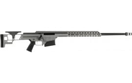Barrett 18504 MRAD Fixed Stock Grey Cerakote