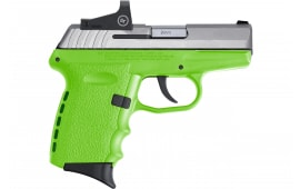 SCCY CPX-2TTLGRD TT/LIME Nosafe Red Dot 10R