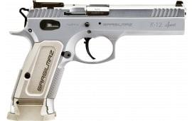 "SAR USA K-12 Sport Semi-Automatic DA/SA Forged Stainless Steel Pistol 4.7"" Barrel 9mm 17rd - K12STSP"