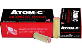 Atomic 00449 38SPC Match 148 HBWC TCP - 50rd Box