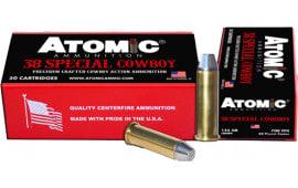 Atomic 00451 38SPC Cowboy 125 LRNFP - 50rd Box